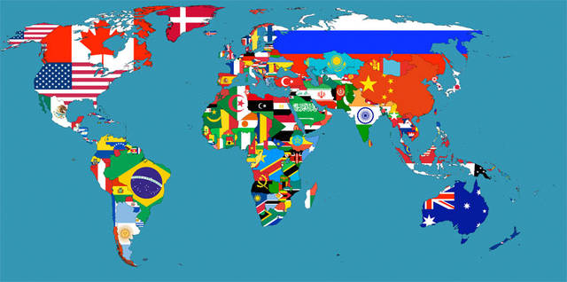 Cartina Mondo Ingrandita.Mappa Mondo Travelbuy Cosenza Agenzia Viaggi